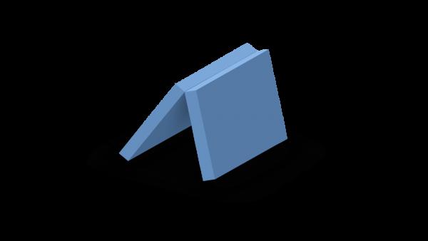 Schaumstoffzuschnitt zweiteiliges Polster